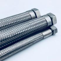 晨光 M&G 不锈钢金属软管 JTR6C/C-2000-16B 两端M12x1内螺纹:锥面密封:2米/根