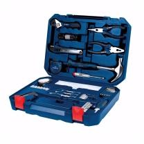 博世 BOSCH 家用多功能五金工具箱 108件套  2607002789