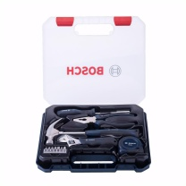 博世 BOSCH 家用多功能五金工具箱 12件套  2607017379