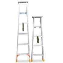 步步稳 加厚铝合金梯子 1.5m  (新老包装交替以实物为准)