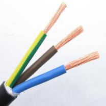 正泰 电缆 RVV3*2.5平方 (红铜色) 5米起剪