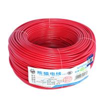 熊猫 单股多芯软线 BVR16平方 (红色) 100米/卷