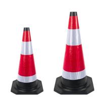 谋福 CNMF 橡胶反光路锥路障锥雪糕筒桶交通锥桶 8409 60cm (红白)