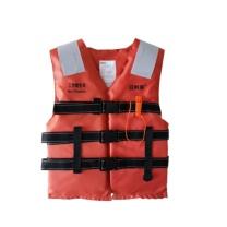 安赛瑞 国标救生衣 14511 (均码)  高密度聚乙烯发泡材质配口哨及反光片