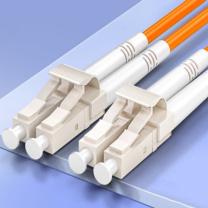 山泽 SAMZHE 光纤跳线 电信级LC-LC多模双芯 低烟无卤环保光纤线 收发器尾纤 G2-LCLC05 5米