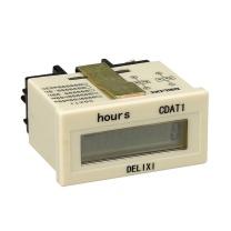 德力西 超小型电子累时器 CDAT1-2 9999.99H 带扩展面板
