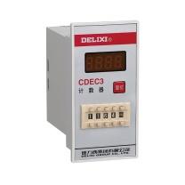 德力西 电子式计数器 CDEC3 AC380V 1-999900