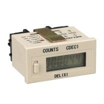 德力西 超小型电子计数器 CDEC1-6L 带扩展面板