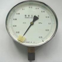 西安鑫仪 精密压力表 YB-150A 0.25级 0-25MPA (乳白色/透明)