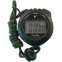 天福 单排两道计时秒表 PC2002EL 75.5*64*21.4mm (墨绿)