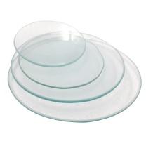 冰禹 BY-2322 (10片)耐高温玻璃表面皿 结晶皿盖 圆皿 烧杯盖 120mm