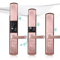 瀚帝斯 智能指纹锁升级款(滑盖) HTS-S7 (颜色随机)