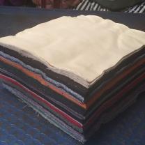 护善 全棉工业擦机布 40*60cm 40*60cm  (颜色随机 50斤的倍数起订)
