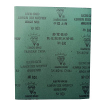 上海钻石 水砂纸 600#  100张/包