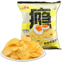 上好佳 Oishi 咸蛋黄味薯片 60g/袋 20袋/箱