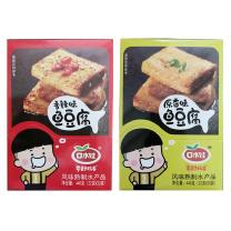 口水娃 鱼豆腐22g*20袋/盒(原香/香辣/烧烤) 口味随机 20盒/箱  (18盒/箱)