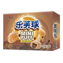 康师傅 Master Kong 乐芙球巧克力味 50g/盒  24盒/箱