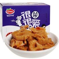 口水娃 香卤莲藕 30g/袋  20袋/盒, 12盒/箱
