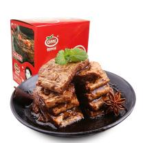 口水娃 蛋白素肉手撕豆干素牛排 22g  20袋/盒(香辣味/五香味,口味随机)