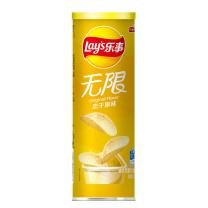 乐事 无限薯片 104g/罐  24罐/箱 (原味)
