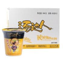 统一 汤达人 酸酸辣辣豚骨面 90g/杯,12杯/箱