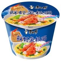 康师傅 Master Kong 鲜虾鱼板面 经典  12桶/箱