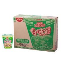 日清 NISSIN 合味道速食面 86g/杯  12杯/箱 猪骨浓汤风味
