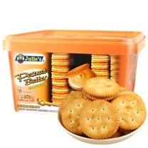 茱蒂丝 茱蒂丝 花生酱三明治饼干礼盒,独立小包装 18小包/盒,540g/盒,6盒/箱