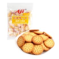 Aji 小圆形饼干(咸蛋黄味)(独立小包装) 160g/袋 24袋/箱