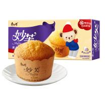 康师傅 Master Kong 妙芙蛋糕 香芋牛奶味 96g/盒  24盒/箱
