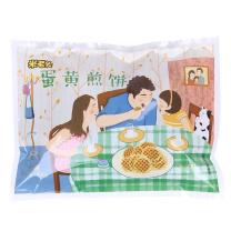 米老头 蛋黄煎饼 300g/袋  (牛奶味/原味 10袋/箱)