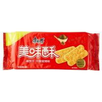 康师傅 Master Kong 美味酥咸饼干 85g/袋  24袋/箱 (什锦烧烤味)