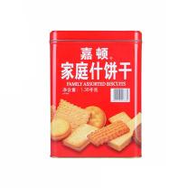 嘉顿 家庭什锦饼干 1380g/罐