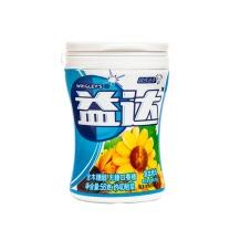 益达 木糖醇无糖口香糖草本精华 56g/瓶 6瓶/盒 6盒/箱