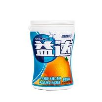 益达 木糖醇无糖口香糖香橙薄荷 56g/瓶 6瓶/盒 6盒/箱