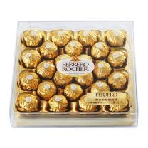 费列罗 榛果威化巧克力钻石装 24粒/盒  4盒/箱