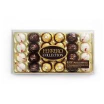 费列罗 费列罗臻品巧克力糖果礼盒 24粒/盒  4盒/箱