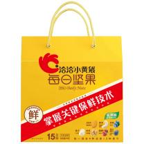 洽洽 每日坚果混合果仁水果蜜饯干小黄袋 390克  (26g*15包)*1盒