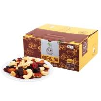 山萃 中粮 每日坚果 坚果炒货 休闲零食 混合坚果礼盒 (25g*30包) 750g