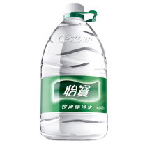 怡宝 Cestbon 饮用纯净水 4.5L/桶  4桶/箱