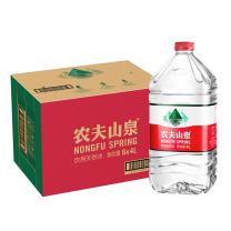 农夫山泉 饮用天然水 4L/桶  6桶/箱