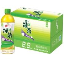 统一 冰绿茶 500ML  15瓶/箱