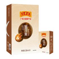 王老吉 罗汉果植物茶饮料 250ml  24盒/箱