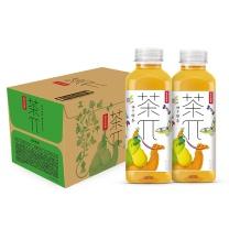 农夫山泉 茶兀 500ml/瓶15瓶/箱  (柚子绿茶)