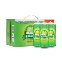 天地壹号 苹果醋饮料  (纤体罐) 330ml/罐 15罐/箱