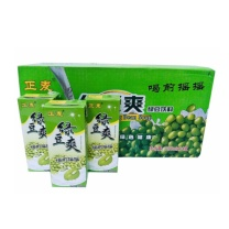 正麦 绿豆沙 夏日清凉饮品饮料 250ml x24盒整箱