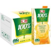 汇源 橙汁 1L/盒  12盒/箱 (利乐包)