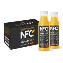 农夫山泉 100%NFC 橙汁 300ml  24瓶/箱