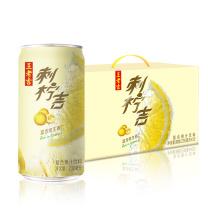 王老吉 刺柠吉复合维生素C果汁饮料230ml*12罐/箱