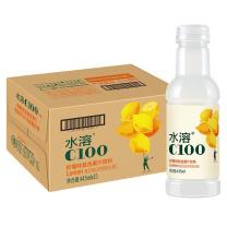 农夫山泉水溶C100柠檬味复合果汁饮料445ml*15瓶 整箱装